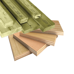 Building materials -> Timber and sheeting